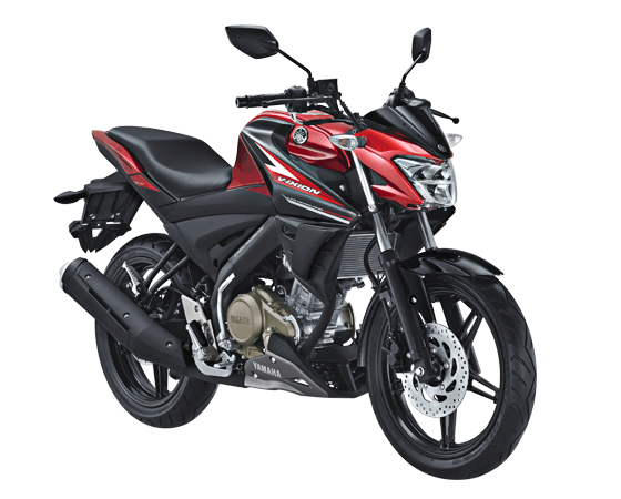 Yamaha All New Vixion Facelift Tipe Reguler Red Black merah hitam