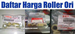Daftar Harga Roller Ori Matic Yamaha, Honda, dan Suzuki