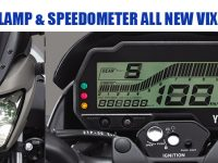 HEADLAMP DAN SPEEDOMETER ALL NEW VIXION