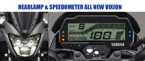 Harga Headlamp LED, dan Speedometer All New Vixion Facelift 2017
