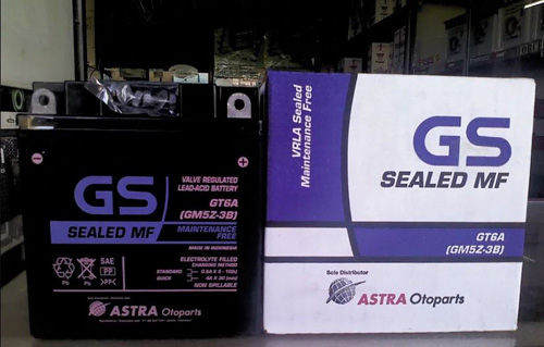 Aki GS Astra Motor