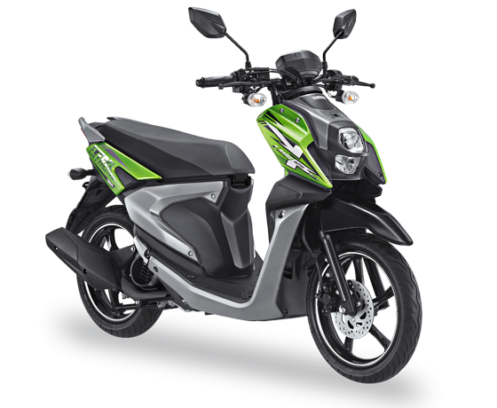 All New X Ride 125 Hijau Explore Green 2017