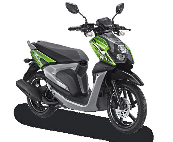 All New X Ride 125 Hijau Explore Green 2017