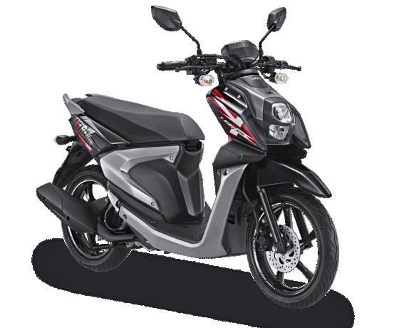 All New X Ride 125 Hitam Tough Black 2017