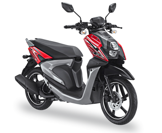 All New X Ride 125 Merah Passion Red 2017