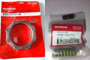 Review Yamaha New Vixion Pakai Per Kopling Honda Tiger dan Kanvas Kopling GL