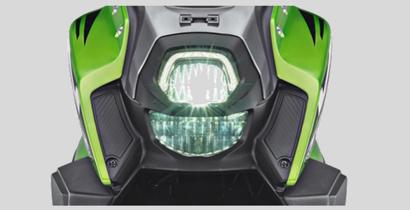 Lampu LED dan DRL All New X Ride 125