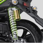 Suspensi atau Shockbreaker belakang All New X Ride 125
