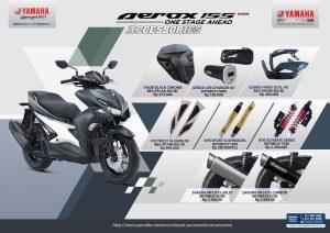 8 Daftar Harga Aksesoris Ori Yamaha Aerox 155