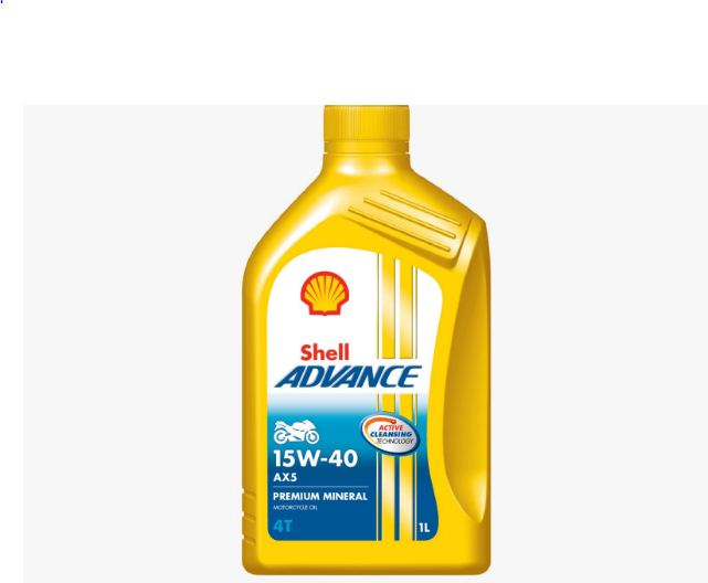 Shell Advance 4T AX5 Scooter