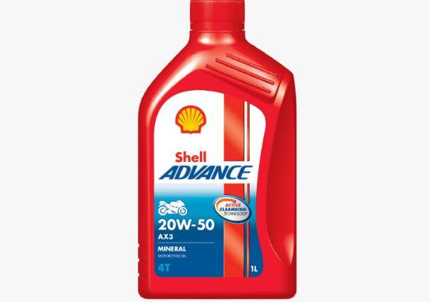 Shell Advance AX3