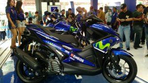 Yamaha Aerox 155 VVA Movistar 2017
