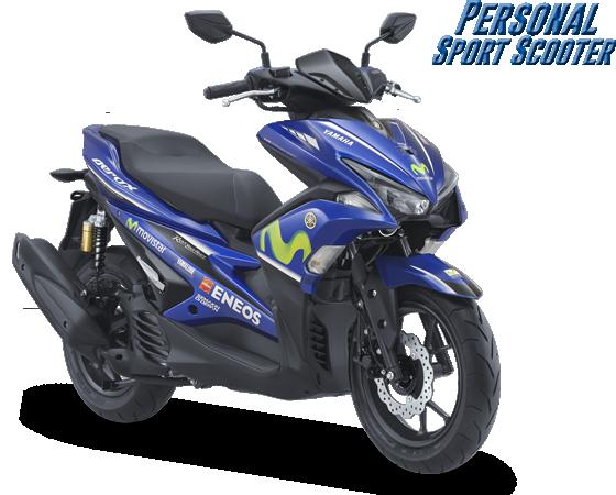 Yamaha Aerox Movistar Tahun 2017