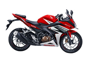 All CBR 150R Racing Red