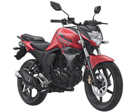 Striping All New Byson FI 2017 Matte Red Merah
