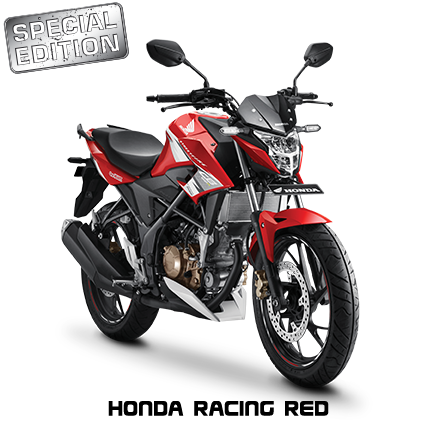 Striping dan warna Honda all new CB150R Tahun 2017 Honda racing red