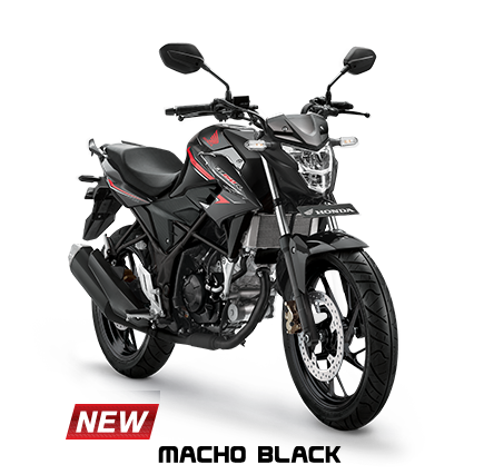 Striping dan warna Honda all new CB150R Tahun 2017 Macho Black