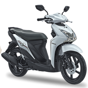 Pilihan warna dan striping Yamaha Mio S Smart White 2017 2018