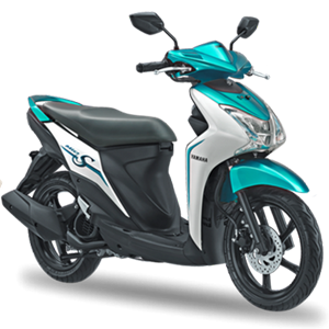 Pilihan warna dan striping Yamaha Mio S Special Green 2017 2018