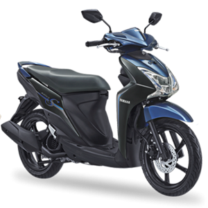 Pilihan warna dan striping Yamaha Mio S Strong Black 2017 2018