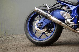 Modifikasi Yamaha MT 25 Headlamp KTM Duke Ala Moge