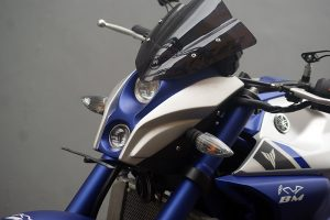 Modifikasi Yamaha MT 25 Headlamp KTM Duke Ala Moge
