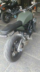 Modifikasi Yamaha MT 25 Klasik Simpel 6