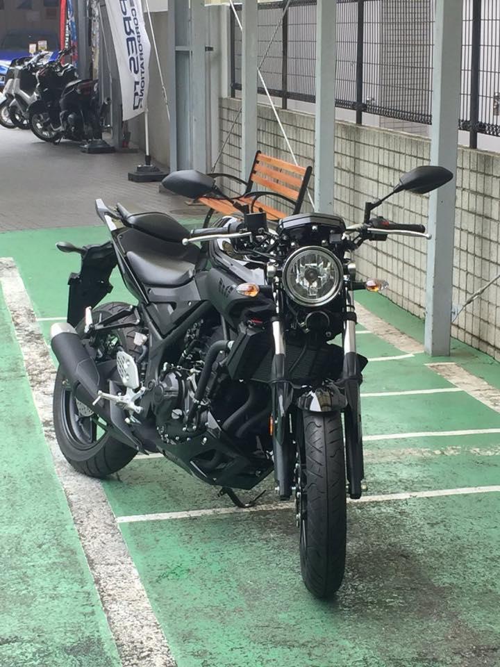 Modifikasi Yamaha MT 25 Lampu Bulat Klasik 2