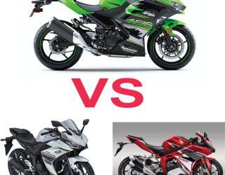 ll New Kawasaki Ninja 250 VS Yamaha R25 dan Honda CBR250RR