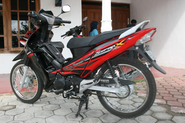 Cara Agar Motor Supra X 125 Karburator Lebih Bertenaga
