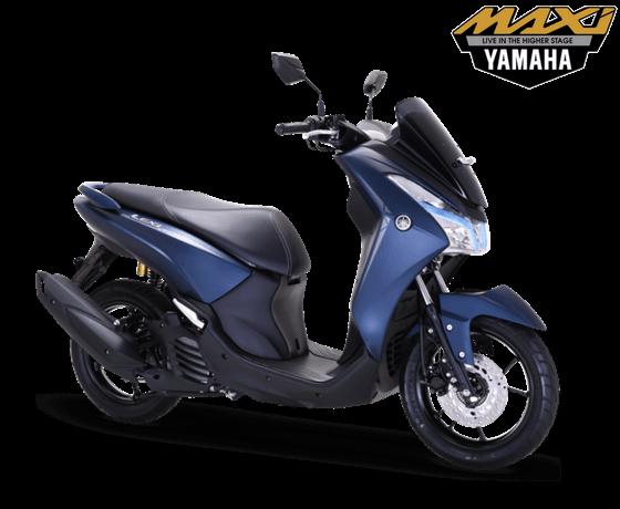 Yamaha Lexi S Biru 2018
