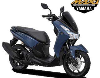 Yamaha Lexi S Biru Matt 2018