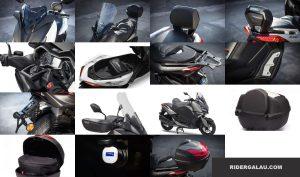 31 Daftar Harga Aksesoris Yamaha Xmax 250 Ori Terbaru