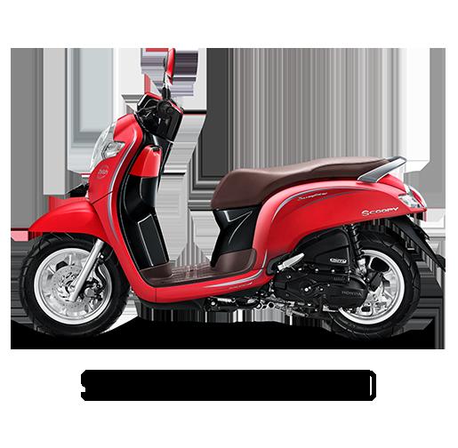 Honda Scoopy Tahun 2018 Stylish Red Merah