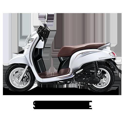 Honda Scoopy Tahun 2018 Stylish White Putih