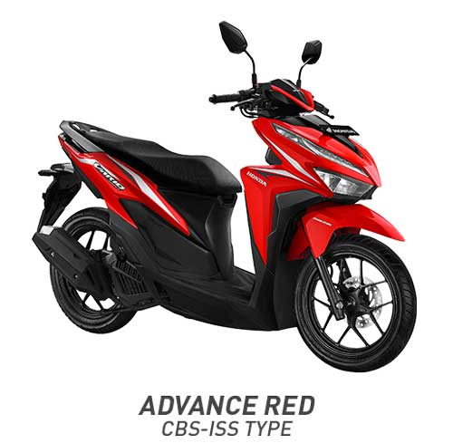 All New Vario 125 Advanced Red Merah CBS ISS 2018