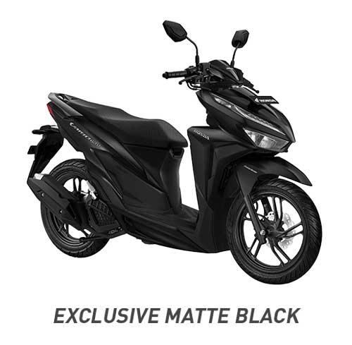 All New Vario 150 Exclusive Matte Black Hitam 2018