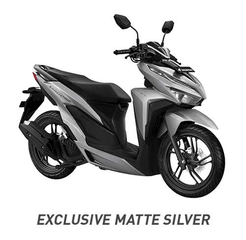 All New Vario 150 Exclusive Matte Silver 2018