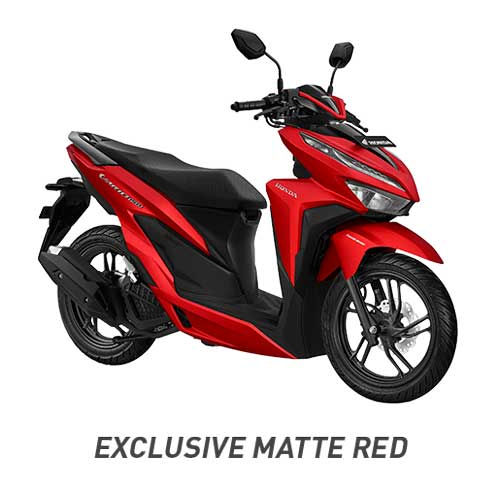 All New Vario 150 Exclusive Matte red Merah 2018