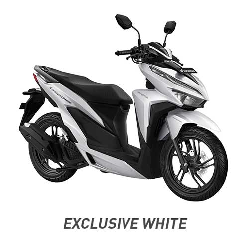 All New Vario 150 Exclusive White Putih 2018