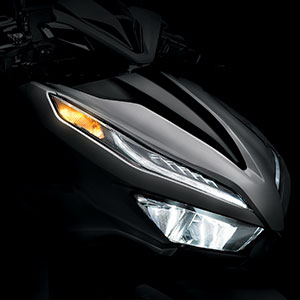 Lampu depan all new vario
