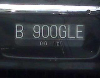 Modifan Plat Nomor Kendaraan Yang Melanggar Aturan