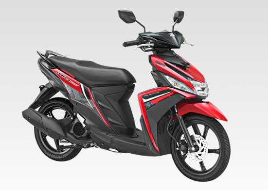 Yamaha-Mio-M3-125-tahun-2018-merah-Attractive-red