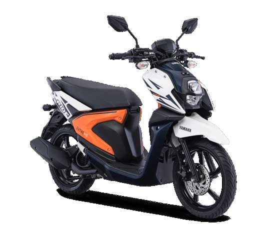 All-New-X-Ride-125-2018-Putih
