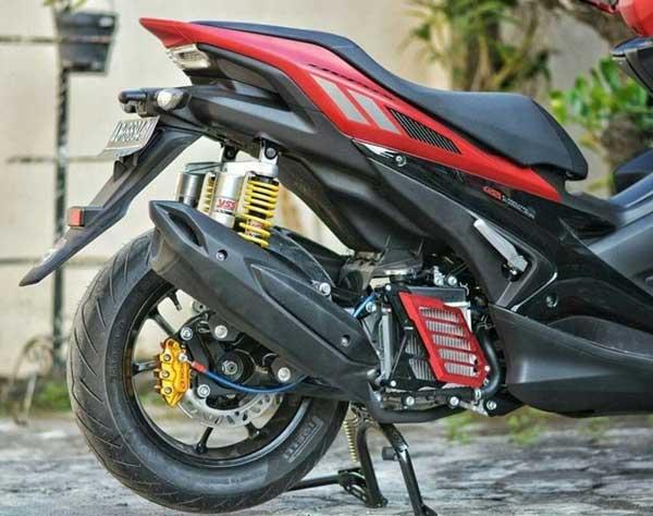 Cara Agar Kanvas Rem Cakram Belakang Sepeda Motor Matic Tak Boros