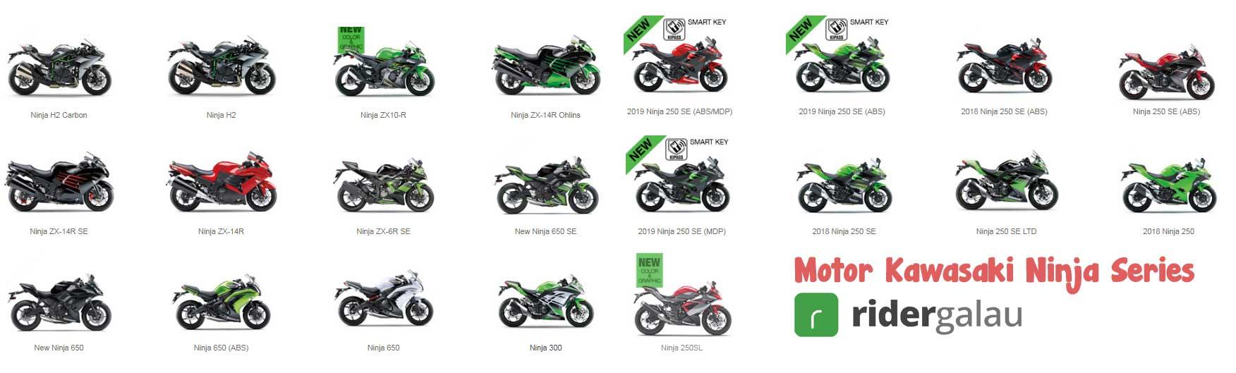 45 Daftar Harga Produk Motor Kawasaki Ninja Z Kx Klx Dan Versys Terbaru 2021